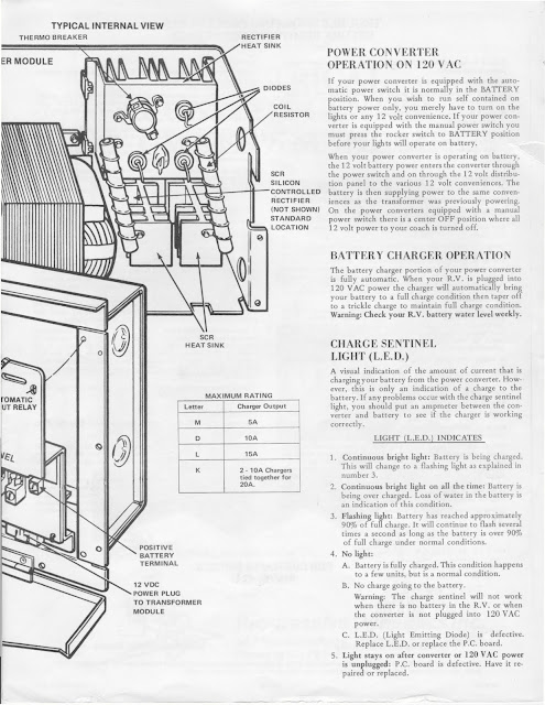 vintage rv converter wiring diagram